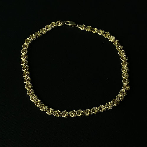14k Yellow Gold Designer Necklace