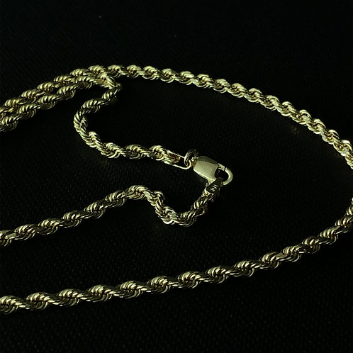 10k Yellow Gold Rope Chain