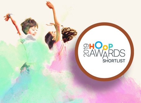 We have been nominated for a Hoop Award!