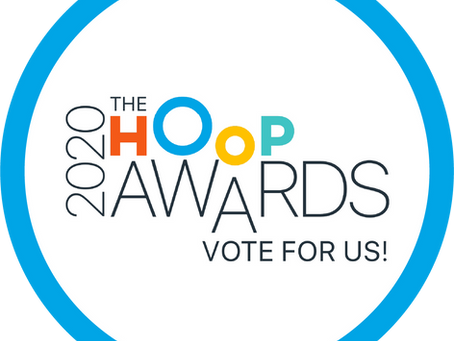 Please vote for us in the Hoop Awards 2020!