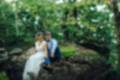 Wedding on Giant Ledge in the Catskills