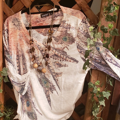 Indian themed top