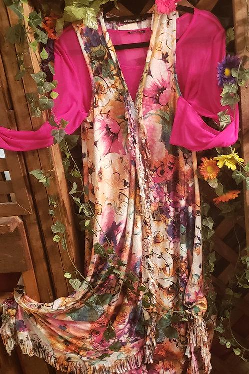 Brilliant floral maxi