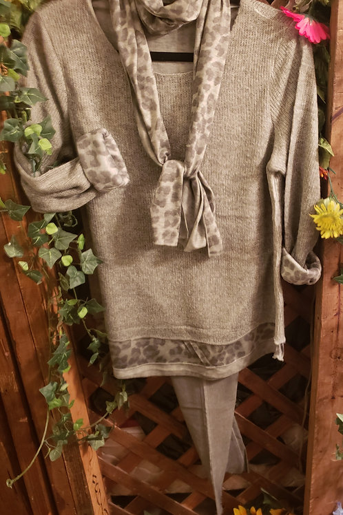 Sage green sweater