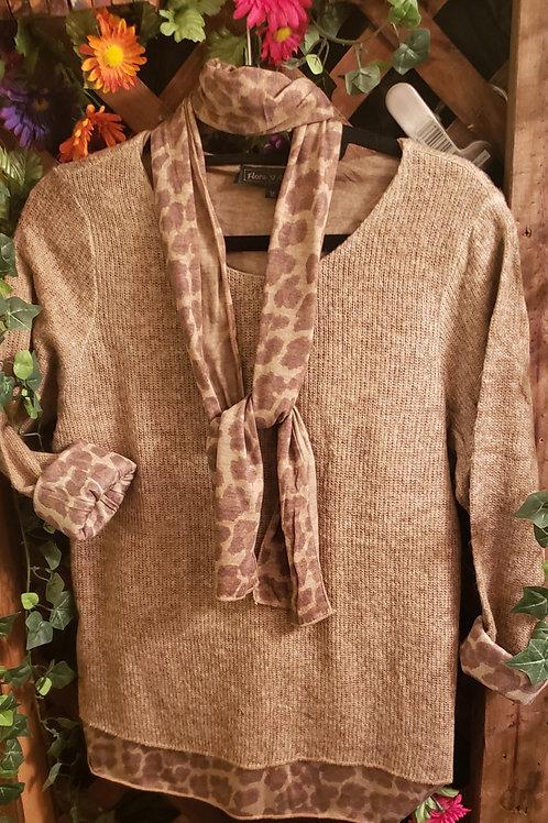 chocolate sweater