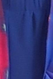Royal strapless jumpsuit