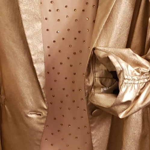 Burnished gold jacket