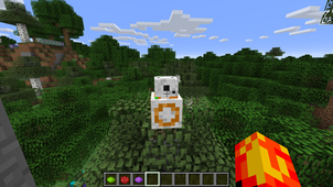 How to make a pet BB8 in Minecraft 1.12 and above