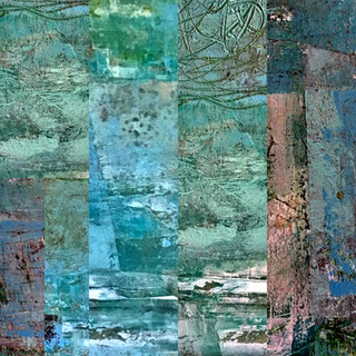 Nature Deconstructed series; blue hydrangea