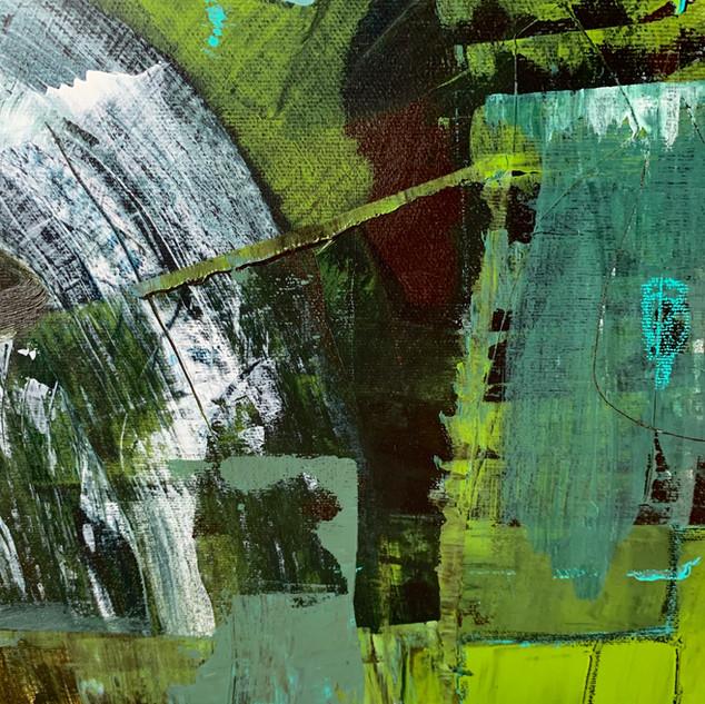 "Detail from ""Fall Hydrangea"""
