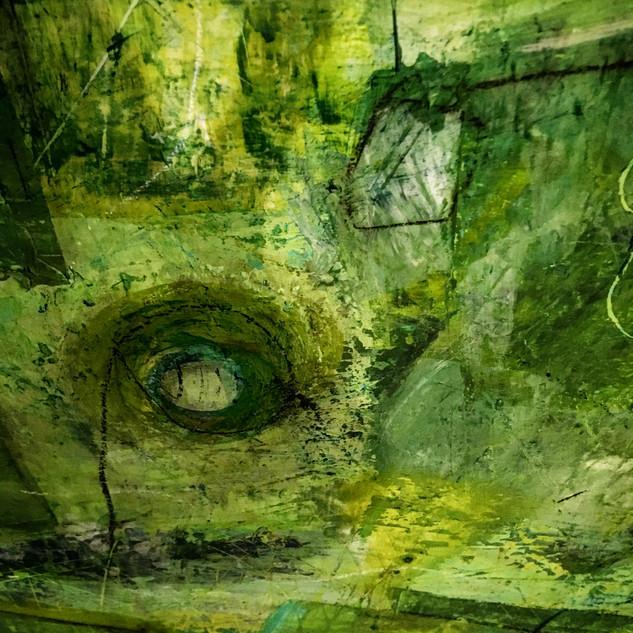 """Detail from """"Fiddlehead Fern"""""""