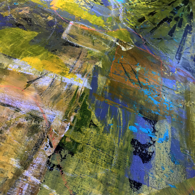 """Detail from """"Summer Retreating"""""""