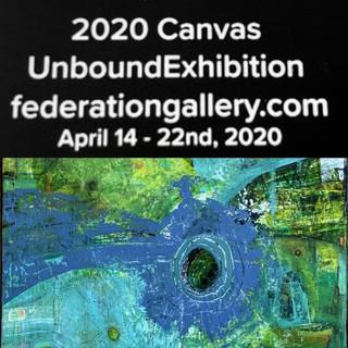 """""""Cornflower"""" - juried into Unbound Exhibition"""