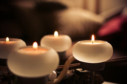 Advent Candles Detail