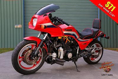 1982 Kawasaki GPZ1100 Turbo