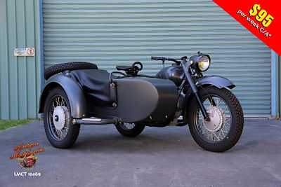 1959 KMZK750 Military Sidecar outfit