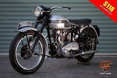 1951 Triumph T100 Tiger