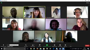 First meeting of the communication and dissemination team