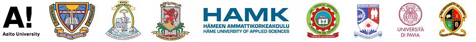 Logos of all partner universities