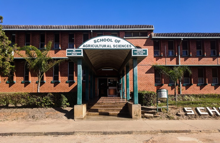 Doorway to School of Agricultural Sciences, University of Zambia