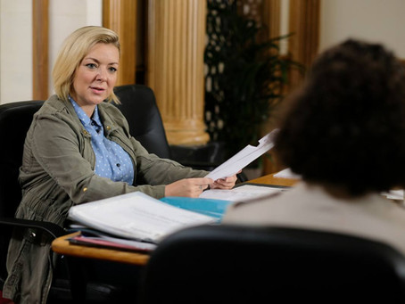 Be a powerhouse like Sheridan Smith in BBC1's  'Care'