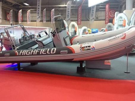 Highfield Boats with Aluminum hull