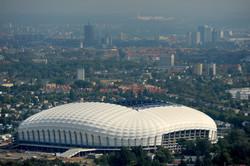 Posen stadium Poland