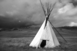 Indian conic tent