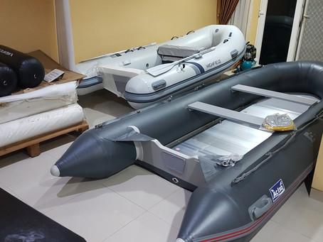 Perahu karet Rigid inflatable boat, rubber boat