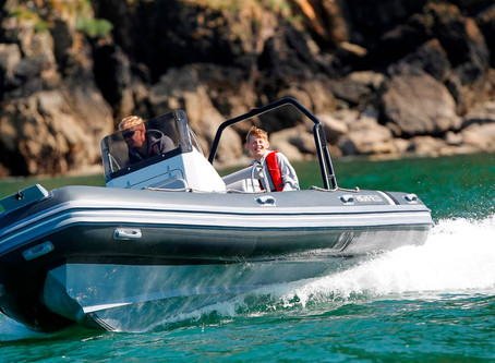 RIB Rigid Inflatable Boat w/Alumunium Hull