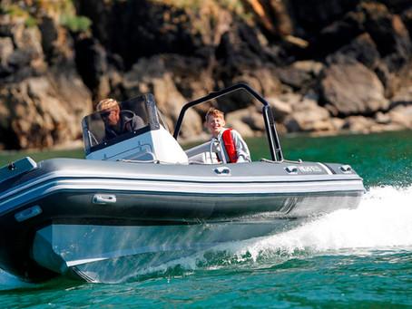 RIB Rigid Inflatable Boat w/Alumunium Hull