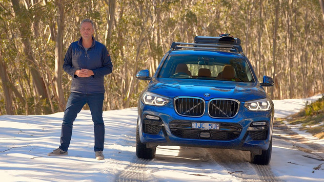 Fitting Snow Chains to the BMW X3