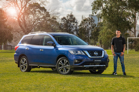 Nissan Pathfinder with Tim Cahill 1.jpg