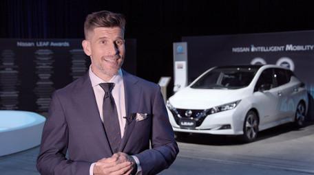 Osher Günsberg talks Nissan LEAF