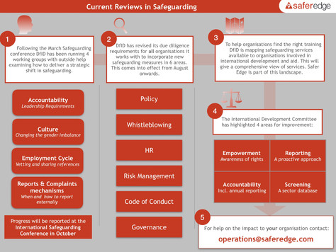 Safeguarding: Reviews and Responses