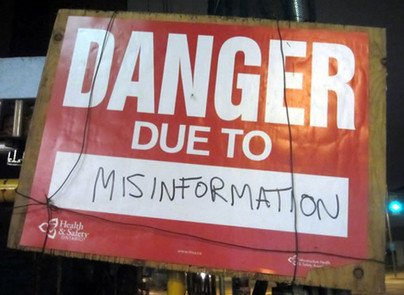 Managing misinformation during coronavirus response
