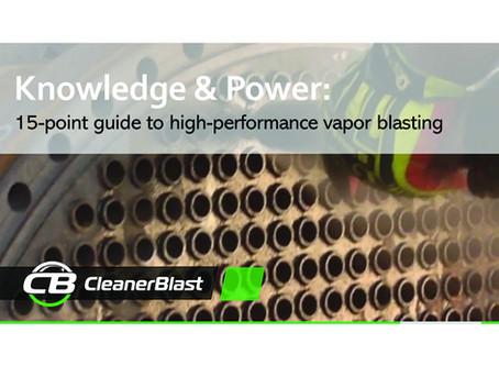 15-Point Vapor Blasting Guide