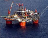 BP Thunderhorse Offshore Oil Platform