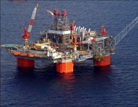 BP Thunderhorse Offshore Oil Platform