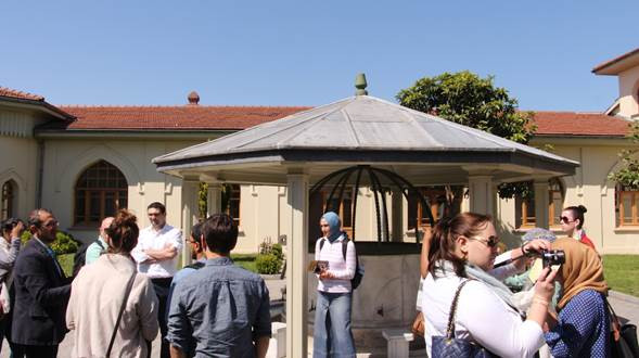 Fatih Sultan Mehmet University Courtyard