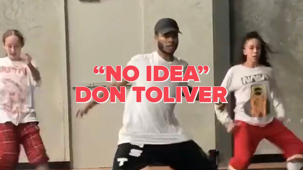 """NO IDEA"" Don Toliver (Tutorial)"