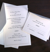 Here Comes the... Wedding Invitations!