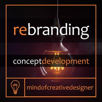 Rebranding (part 2) - Concept Development