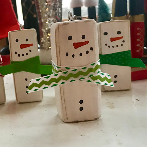 Frosty's Friends Wood Ornaments