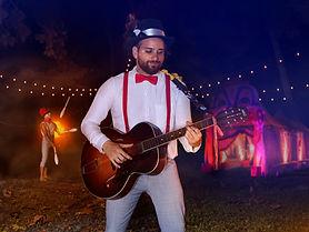 Dan Pinedo - La Scène - Guitar Gypsy circus