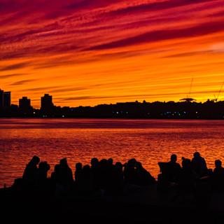Red Skies in Boston