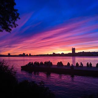 Purple Skies in Boston