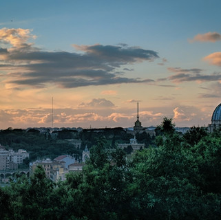 View from Piazzale Garibaldi