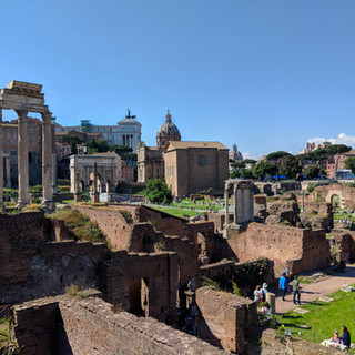The Roman Forum on a Sunny Day