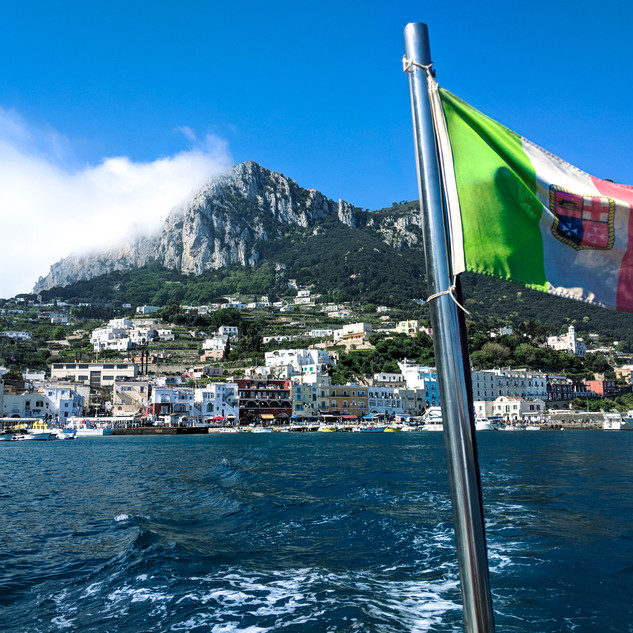 Off the Coast of Capri